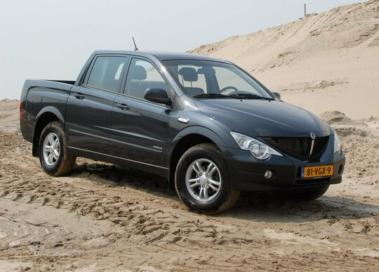SsangYong Actyon Sports (2007 - 2012)