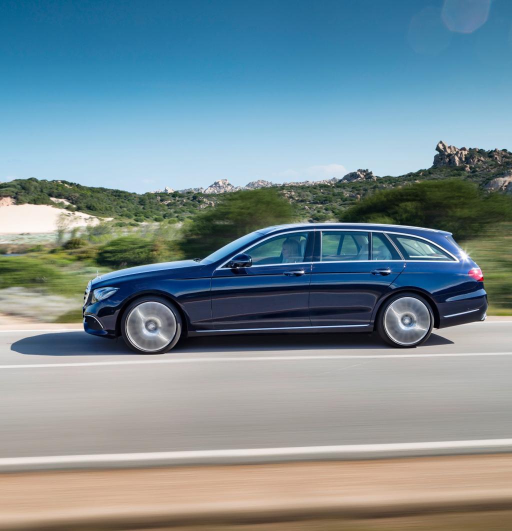Foto's: Mercedes Introduceert E-Klasse Estate