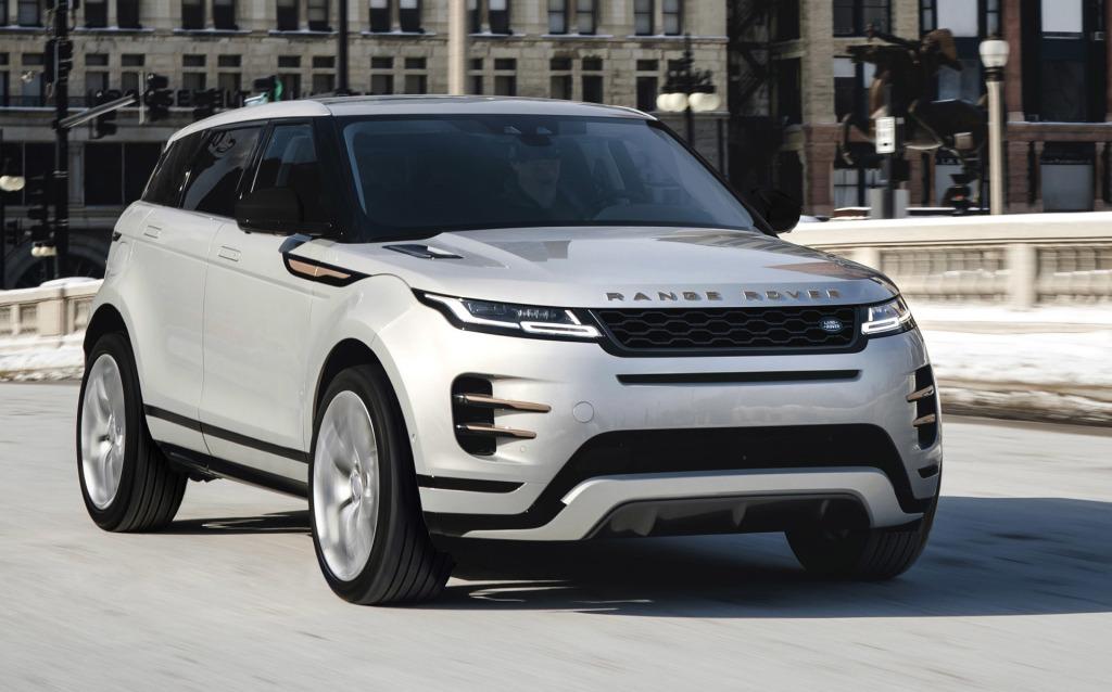 Autozine - Foto's: Nieuwe techniek voor Range Rover Evoque (1 / 2)