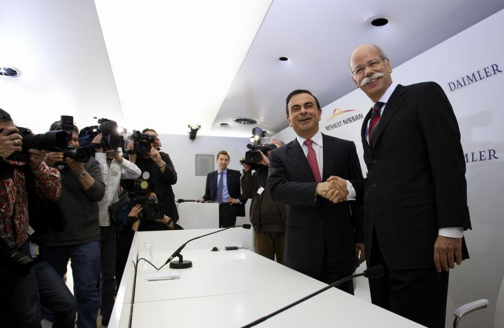Autozine - Nieuws: Daimler AG en Renault-Nissan werken samen Aandeel Daimler