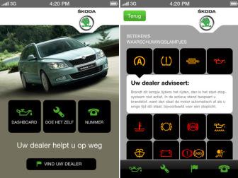 Autozine Nieuws Skoda Brengt Eigen App Uit