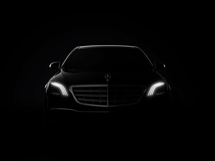 Autozine Nieuws Mercedes Benz Kondigt Vernieuwde S Klasse Aan