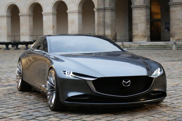 Autozine - Nieuws: Mazda Vision Coupe is mooiste concept car