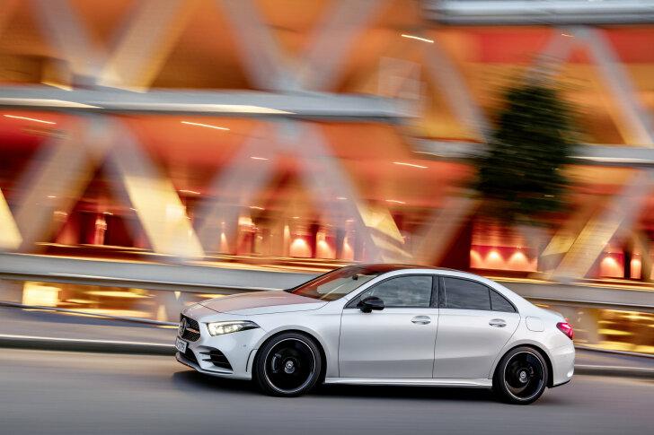 Autozine Nieuws Mercedes A Klasse Sedan Nu Te Bestellen