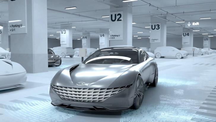 Autozine Nieuws Hyundai Maakt Draadloos Opladen Mogelijk