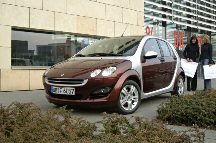 Smart ForFour (2004 - 2006)