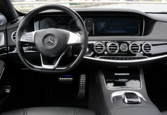 Mercedes-Benz S-Klasse interieur