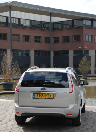 bagageruimte ford focus wagon 2009