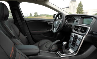 autozine autotest volvo v40 d2. Black Bedroom Furniture Sets. Home Design Ideas