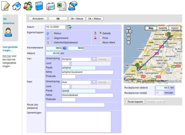 RitAssist screenshot