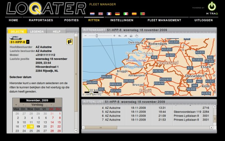 Loqater screenshot