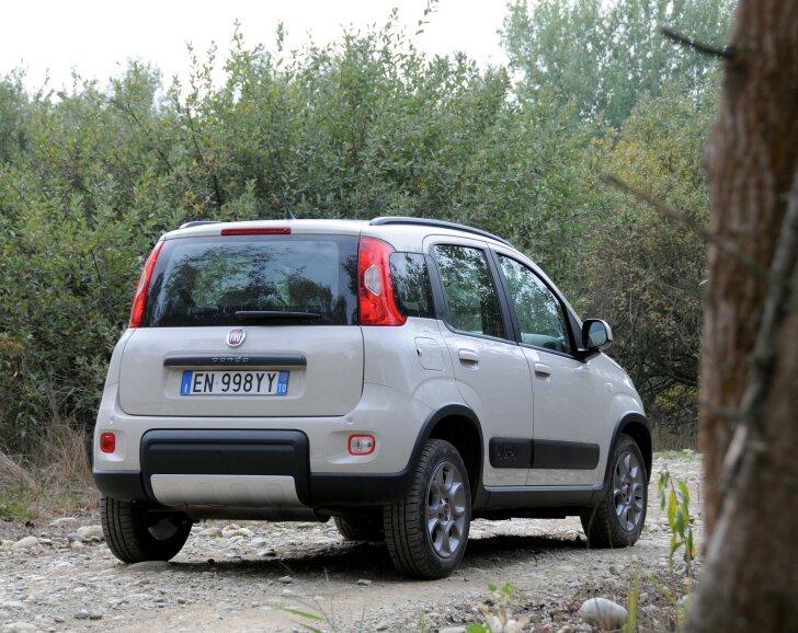 Autozine autotest fiat panda 4x4 for Panda 4x4 extreme