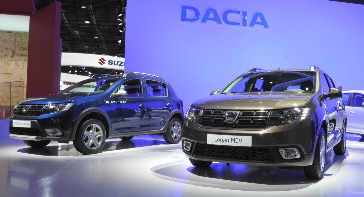 Dacia facelifts