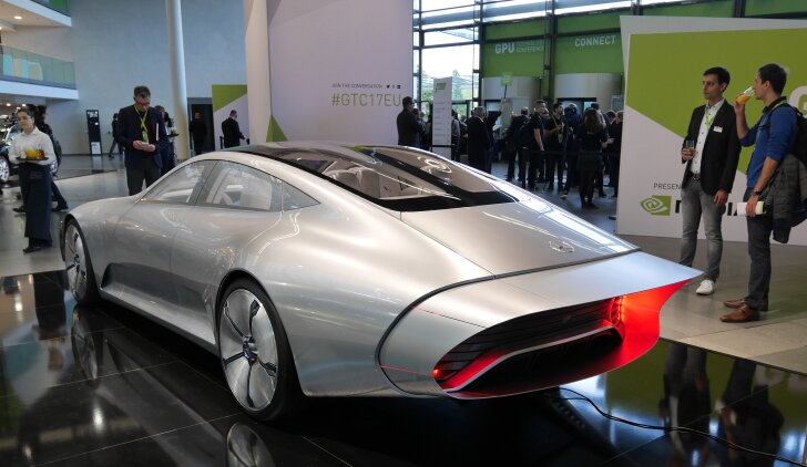 Mercedes-Benz Intelligent Concept Aerodynamic Automobile