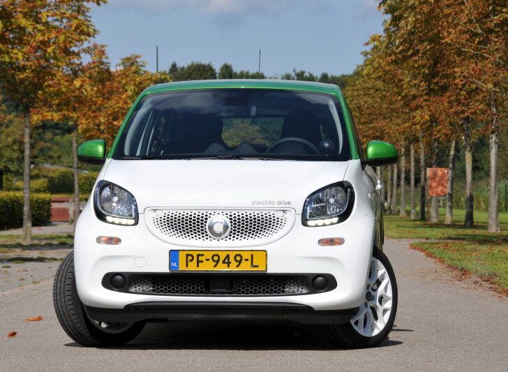 Autozine Autotest Smart Forfour Electric Drive