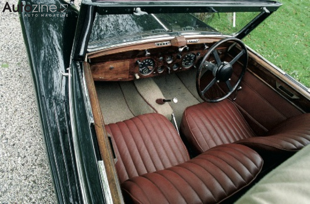 Jaguar 1.5 Litre Interieur