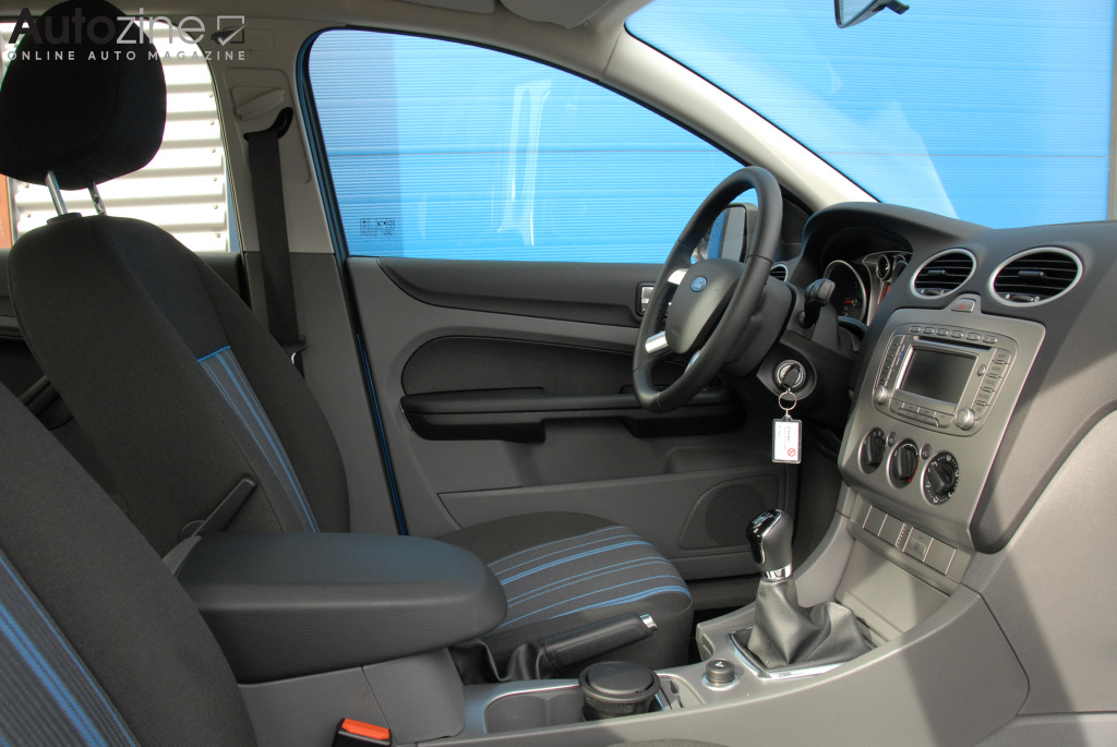 Ford Focus ECOnetic Interieur doorkijk