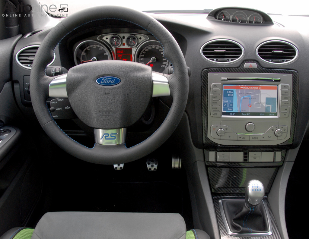 Ford Focus RS Interieur