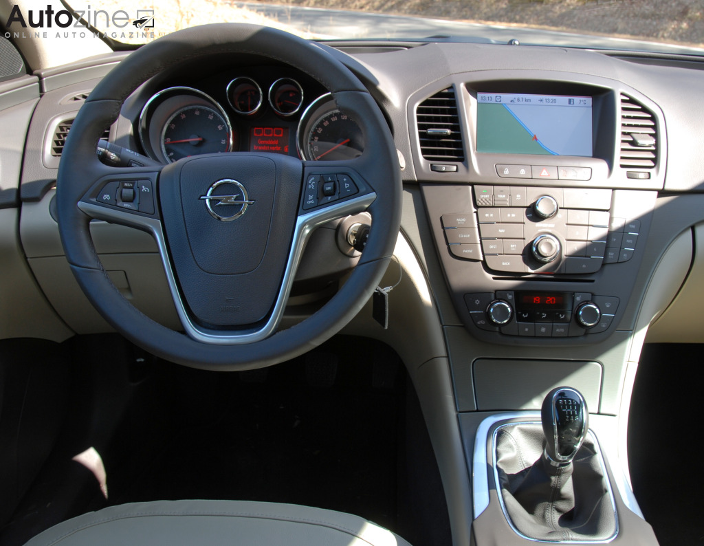 Opel Insignia Sports Tourer Interieur