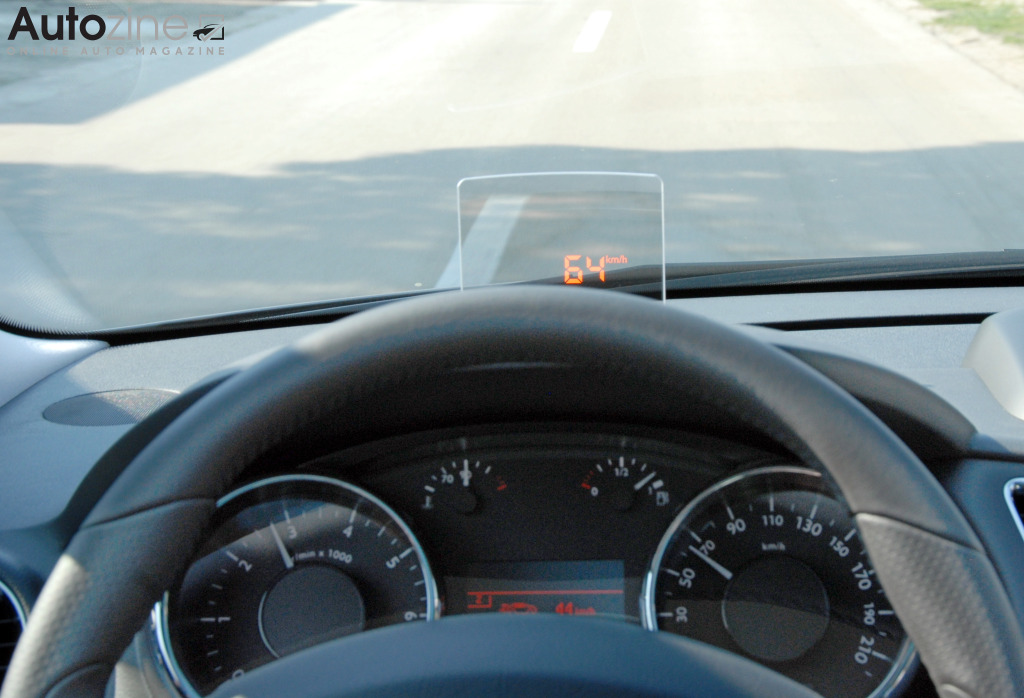 Peugeot 3008 (2009 - 2016) Head-up display