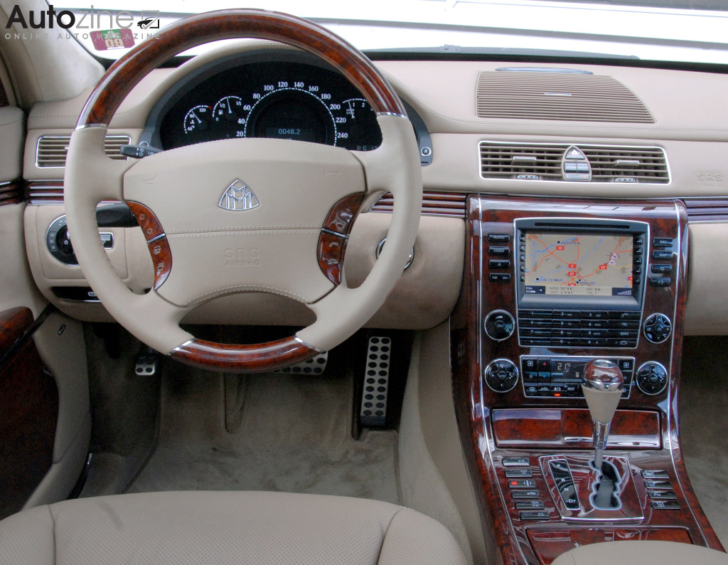 Maybach 57 Interieur