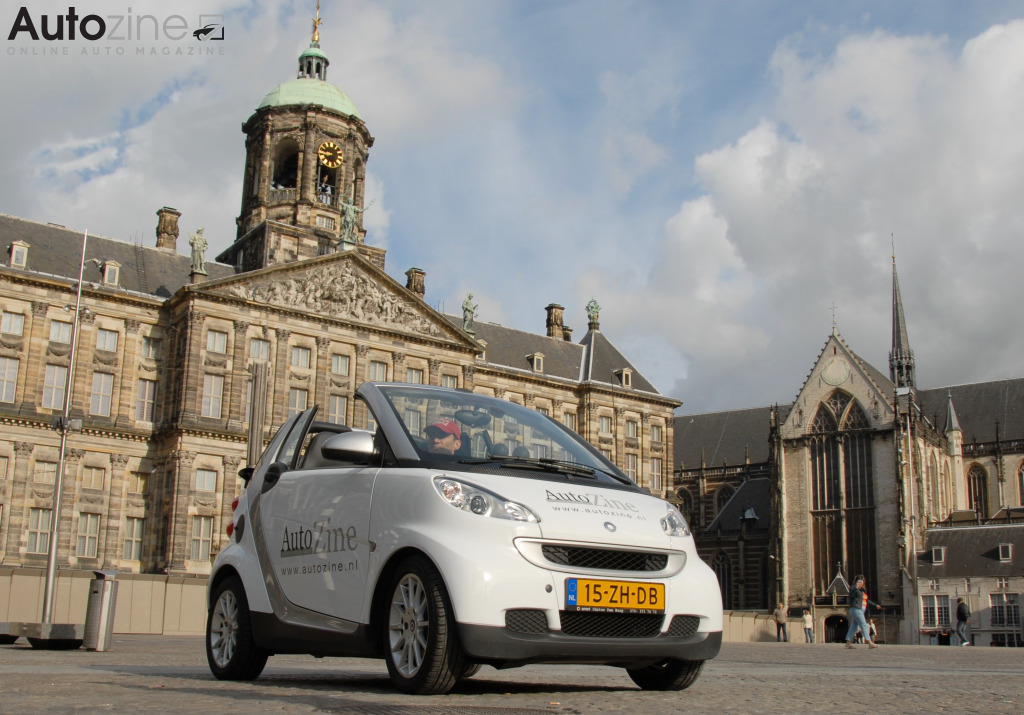 Smart ForTwo Cabrio (2007 - 2016) Amsterdam Paleis