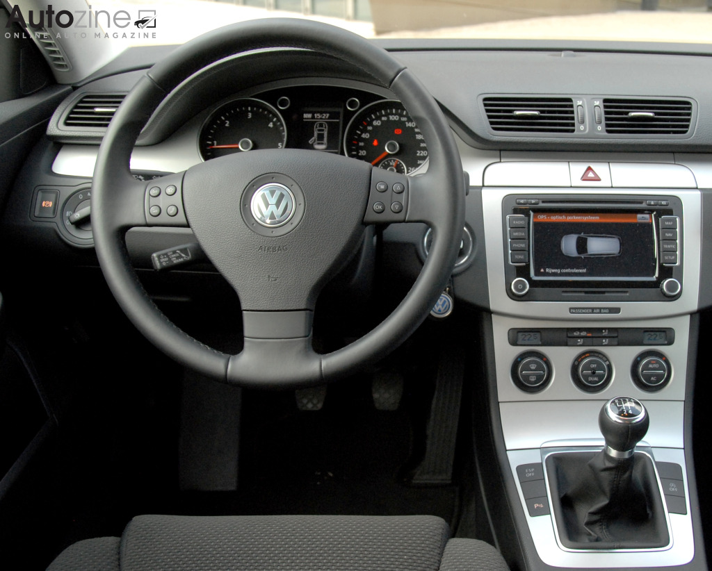Volkswagen Passat BlueMotion Interieur