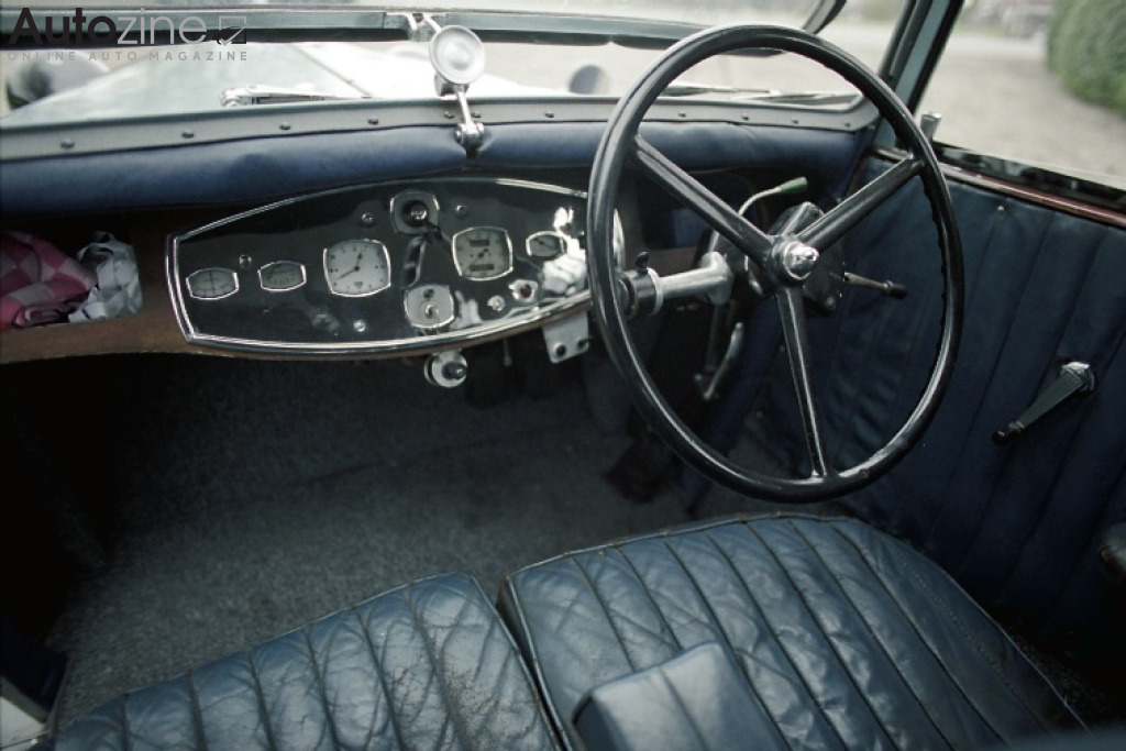 Armstrong-Siddeley 12 HP Interieur