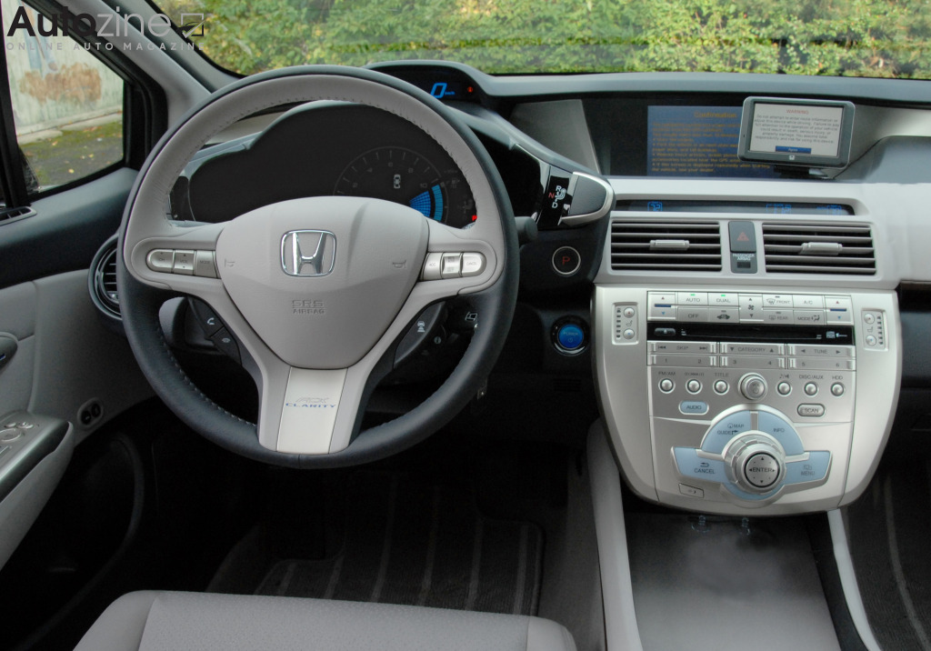 Honda FCX Clarity Interieur