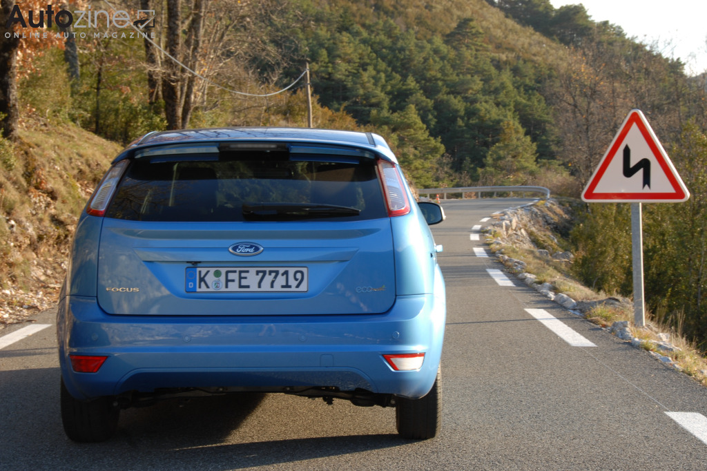 Ford Focus ECOnetic Recht achter