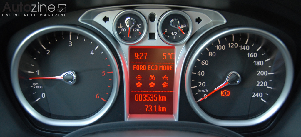 Ford Focus ECOnetic Klokken