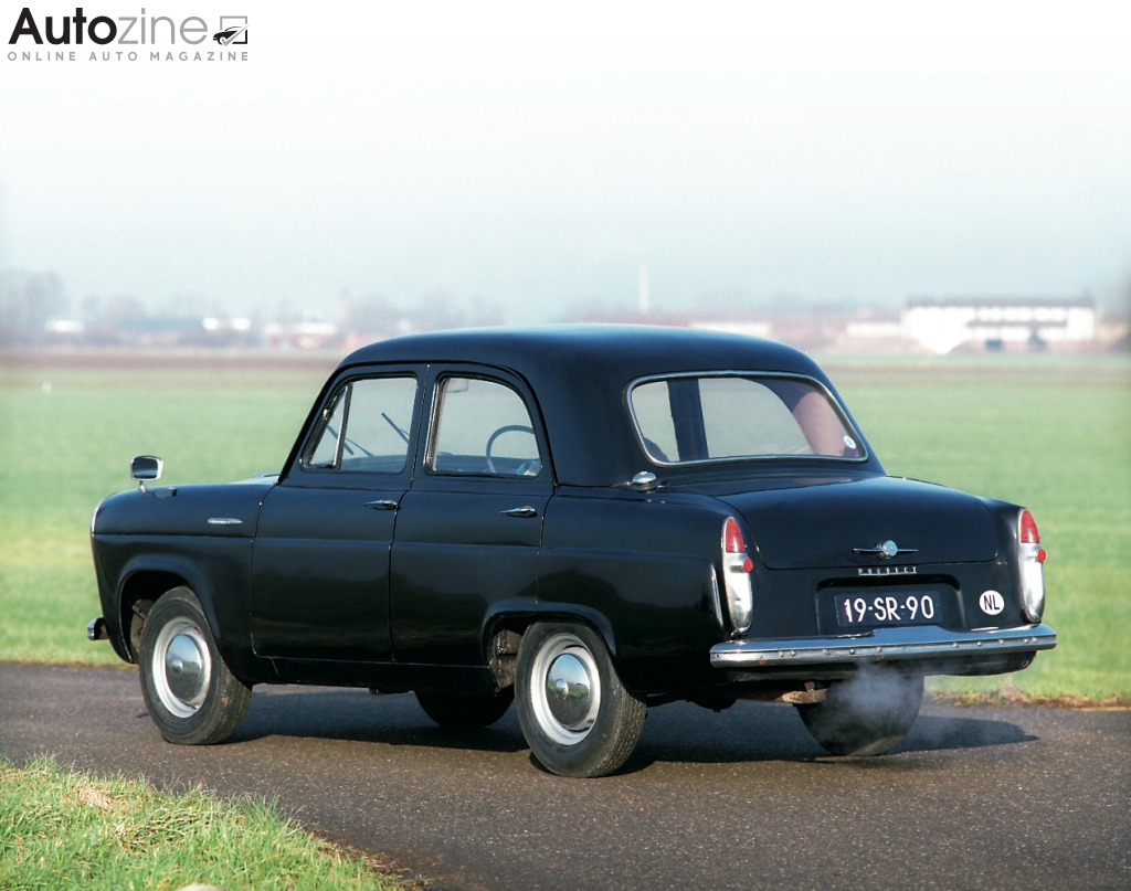 Ford Prefect Schuin achter