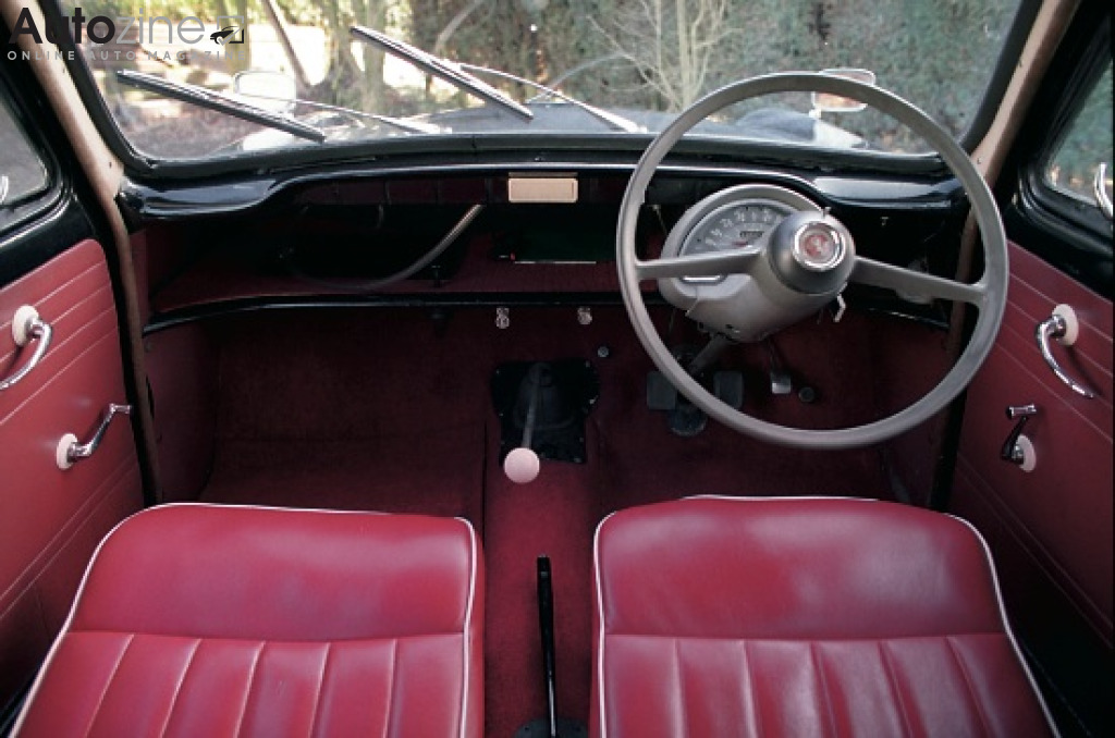 Ford Prefect Interieur