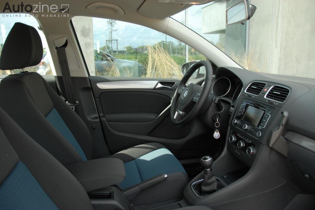Volkswagen Golf BlueMotion Interieur doorkijk