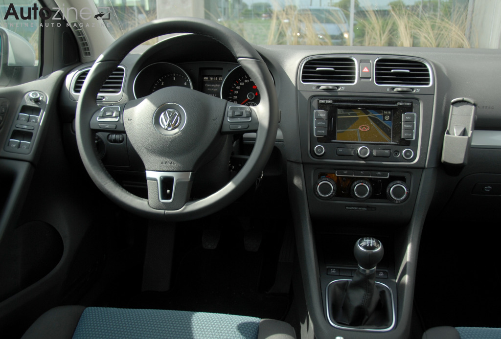 Volkswagen Golf BlueMotion Interieur