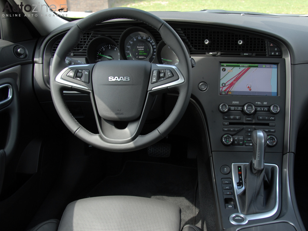 Saab 9-5 sedan Interieur