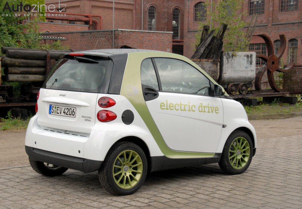 Smart ForTwo Electric Drive Schuin achter