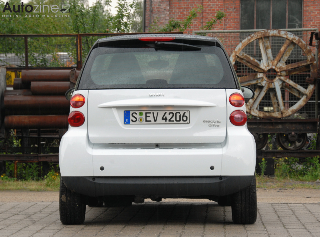 Smart ForTwo Electric Drive Recht achter