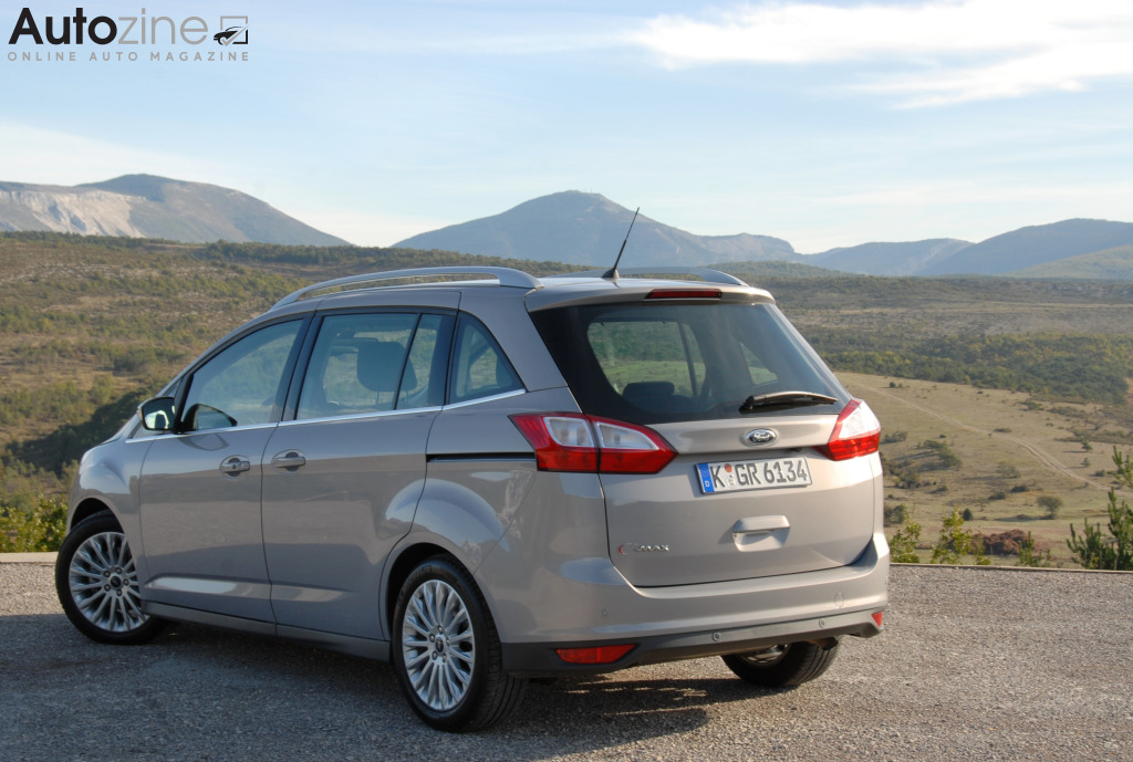 Ford Grand C-Max Schuin achter