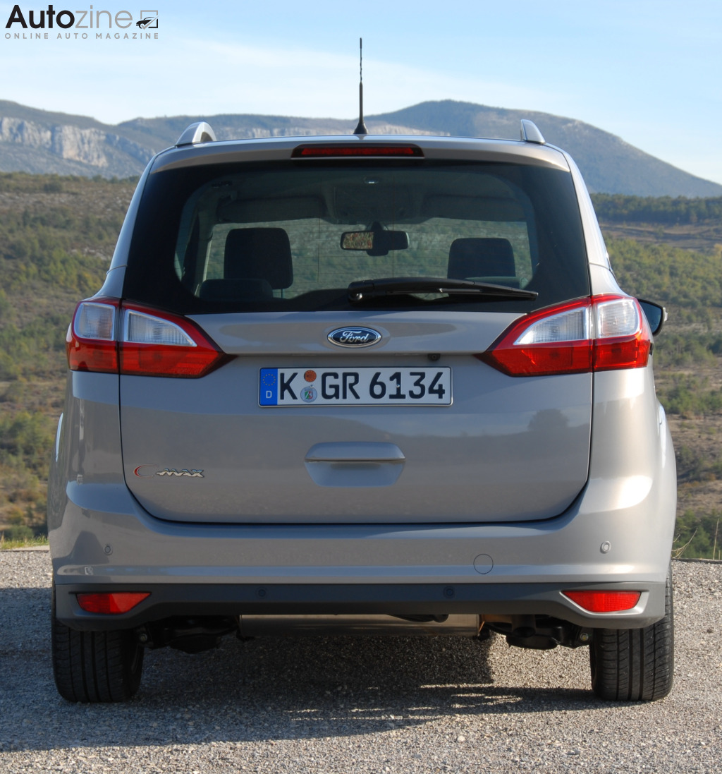 Ford Grand C-Max Recht achter
