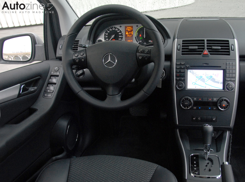 Mercedes-Benz A-Klasse E-Cell Interieur