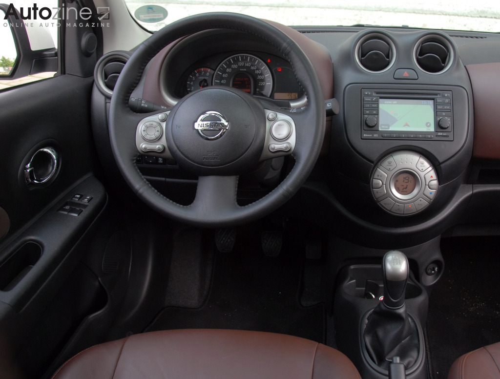Nissan Micra DIG-S Interieur