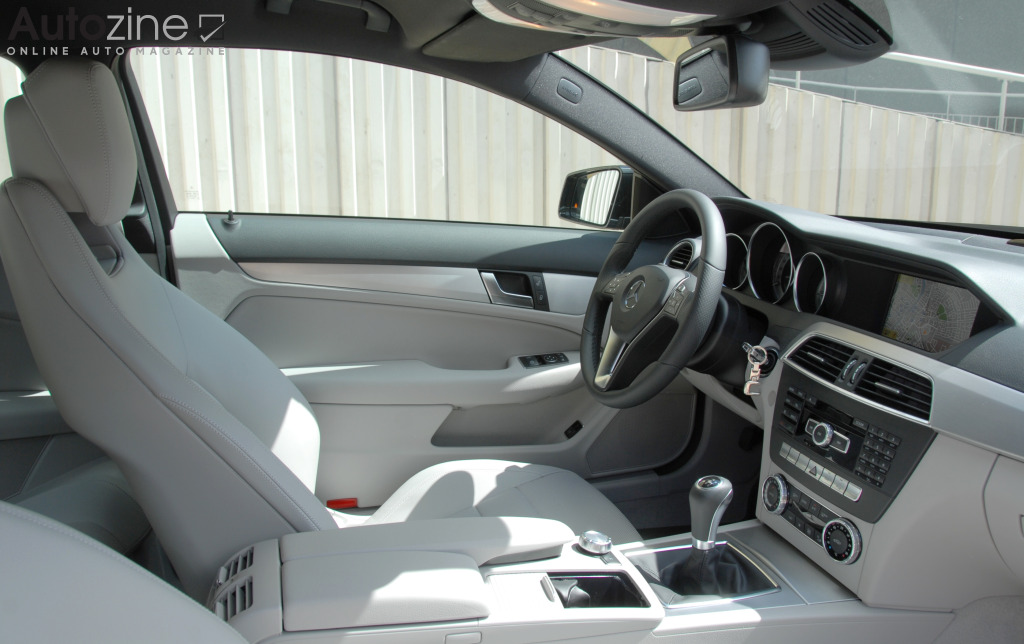Mercedes-Benz C-Klasse Coupe (2011 - 2015) Interieur doorkijk
