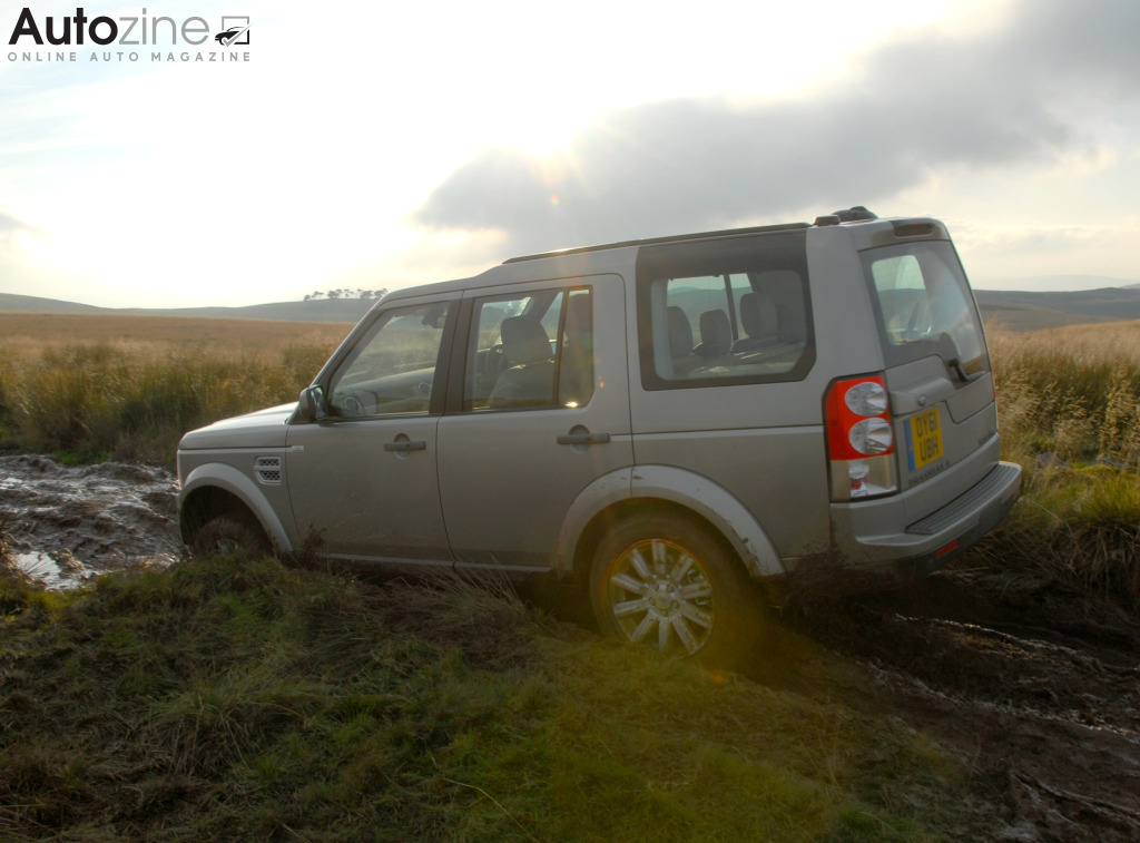 Land Rover Discovery 4 Schuin achter