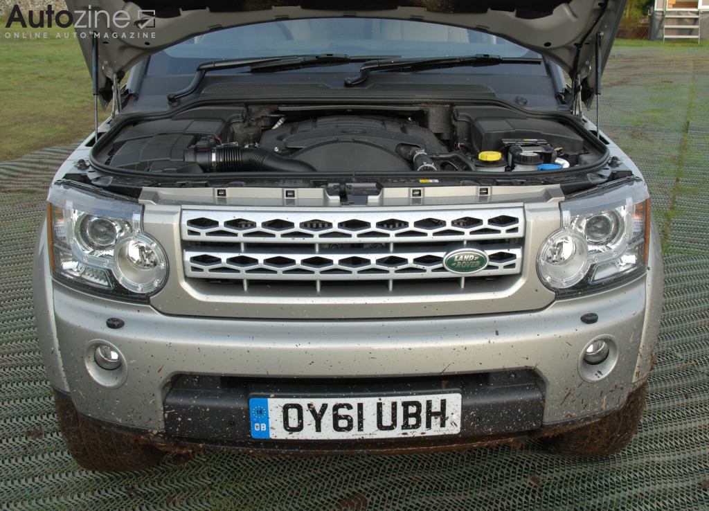 Land Rover Discovery 4 Motor
