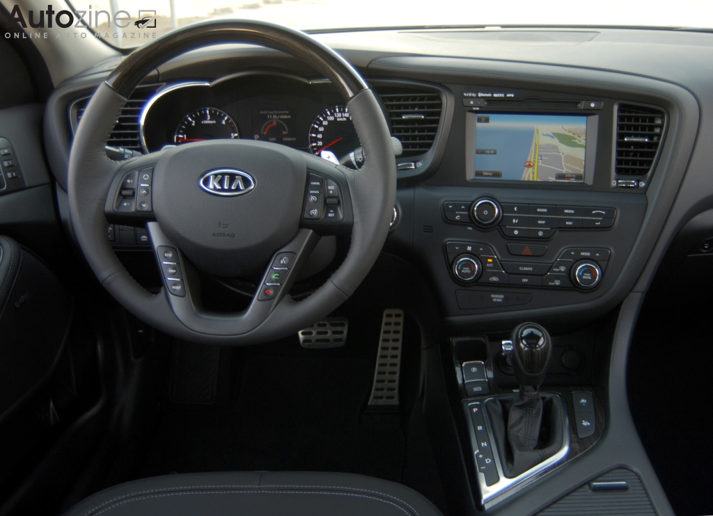 Kia Optima (2011 - 2016) Interieur