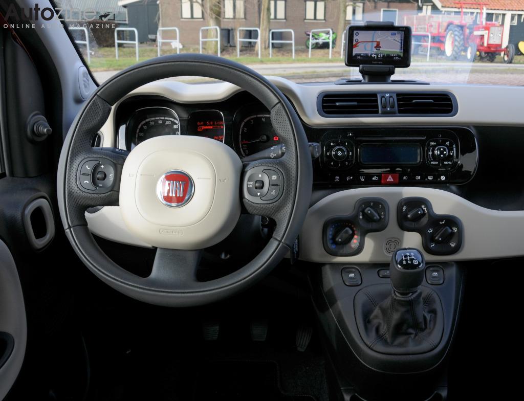 Autozine - Foto\'s: Fiat Panda (8 / 9)