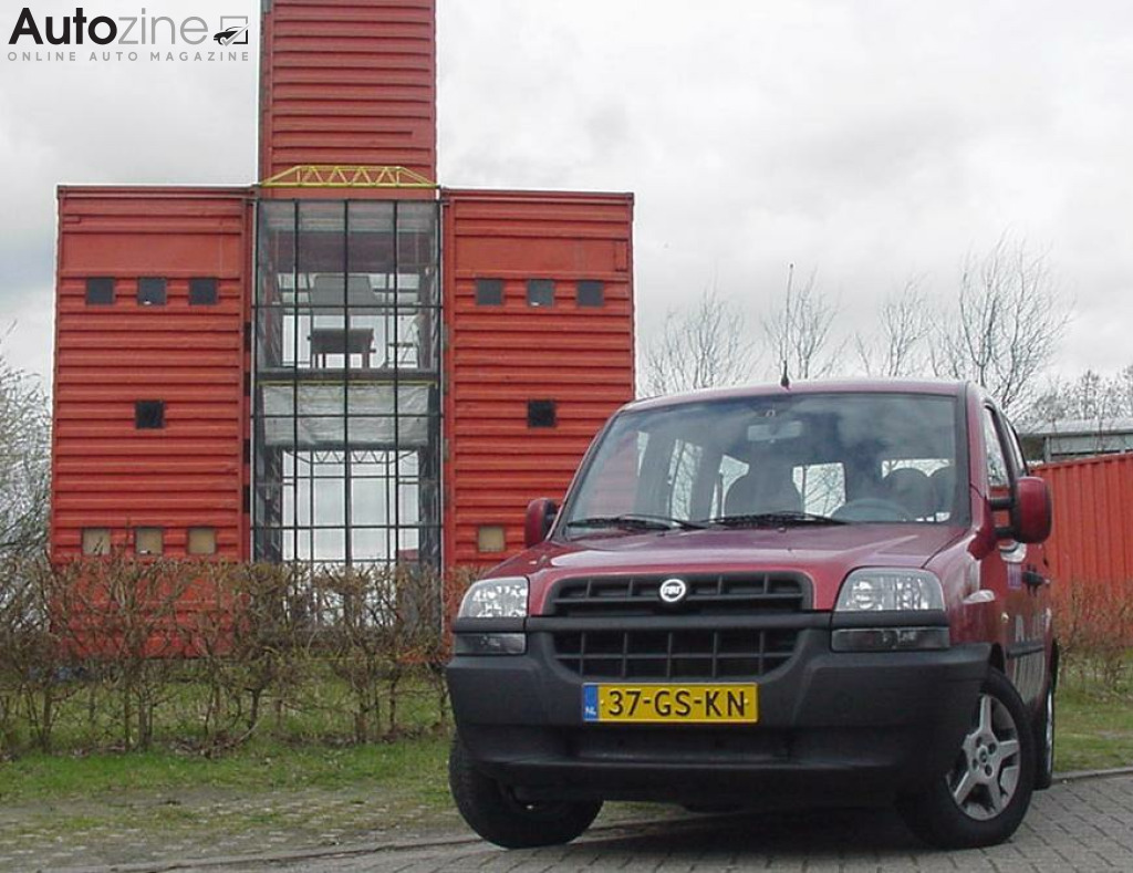 Fiat Doblo (2001 - 2010) Rode containers