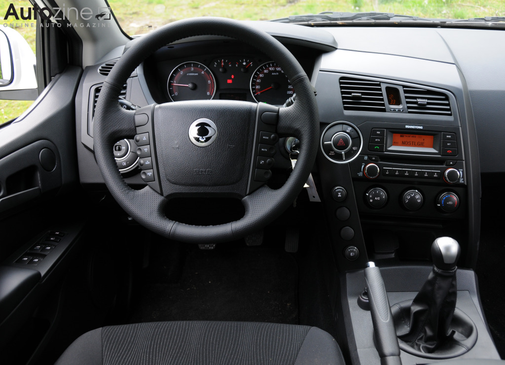 SsangYong Actyon Sports Interieur