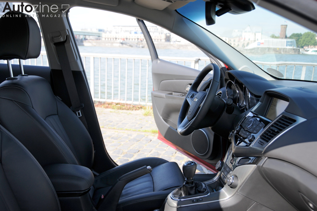 Chevrolet Cruze Station Wagon Interieur doorkijk